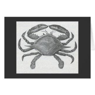 James Johonnot - Edible Crab Card