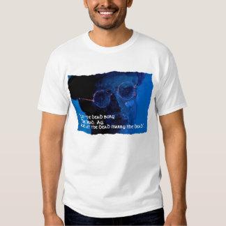 """James Joyce """"dejó a los muertos"""". Camiseta Remeras"""