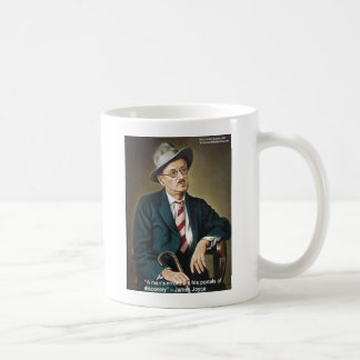 "James Joyce ""Errors/Portals"" Quote Gifts & Cards Coffee Mug"