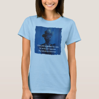 """James Joyce Quote """"Men Are Governed"""" T Shirt"""