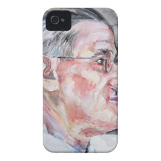 james joyce - watercolor portrait Case-Mate iPhone 4 case