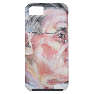 james joyce - watercolor portrait iPhone SE/5/5s case