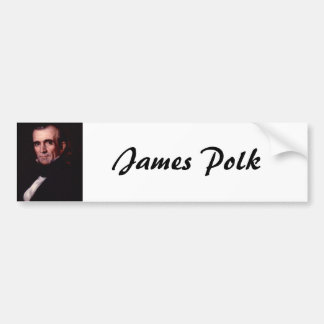 James K. Polk 11 Bumper Sticker
