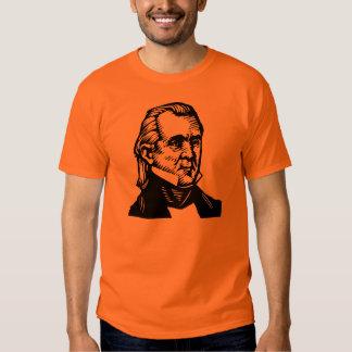 "James K Polk ""11"" camiseta Polera"