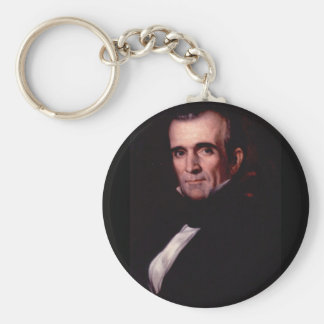 James K. Polk 11 Keychain