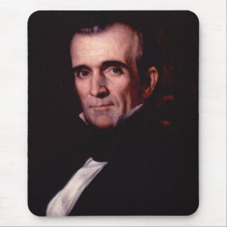 James K. Polk 11 Mouse Pad