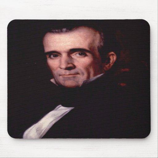 James K. Polk 11 Mousepad