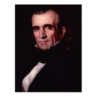 James K. Polk 11 Postcard