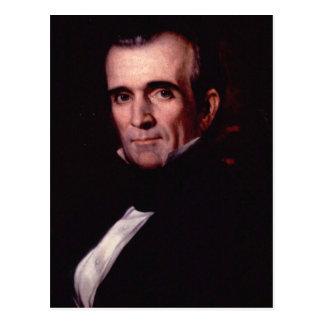 James K Polk 11 Post Card