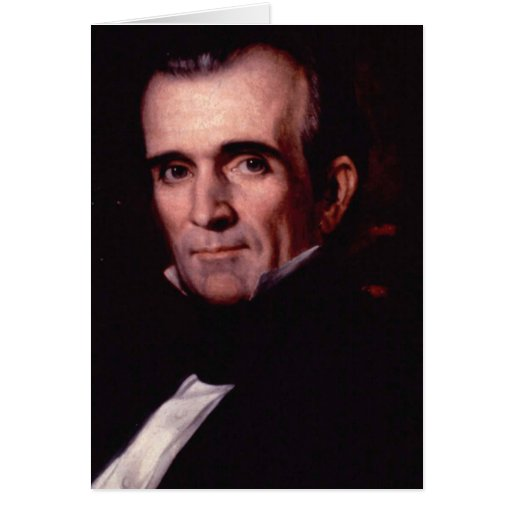 James K. Polk 11 Tarjeta De Felicitación