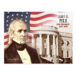 James K. Polk - 11th President of the U.S. Postcards