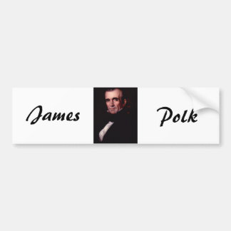 James K. Polk 11th US President Bumper Sticker