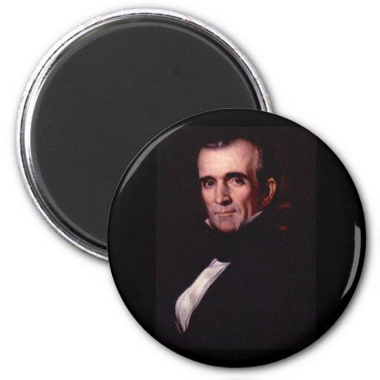 James K. Polk 11th US President Magnet