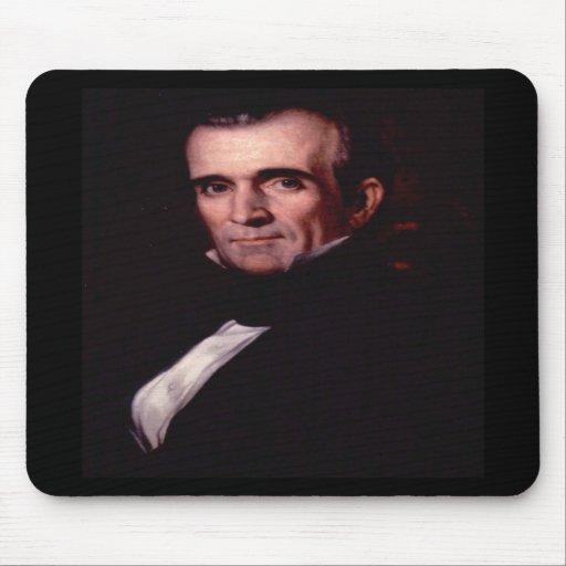James K. Polk 11th US President Mousepad