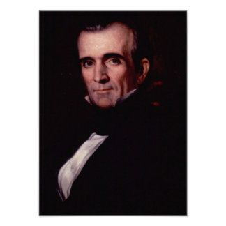 James K. Polk 11th US President Poster