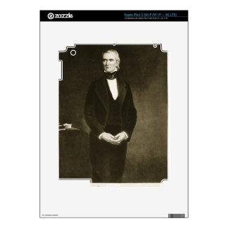 James K. Polk (1795-1849), 11th President of the U iPad 3 Skin