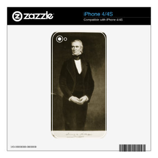 James K. Polk (1795-1849), 11th President of the U iPhone 4 Skin