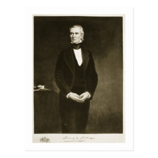 James K. Polk (1795-1849), 11th President of the U Postcard