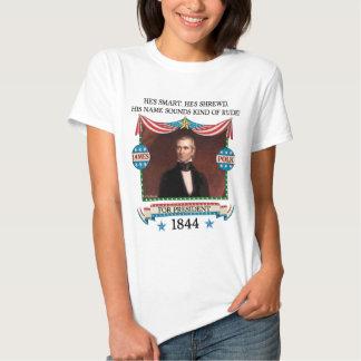 James K. Polk 1844 Campaign (Womens Light Shirt) Shirt