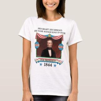 James K. Polk 1844 Campaign (Womens Light Shirt) T-Shirt
