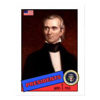 James K. Polk Baseball Card