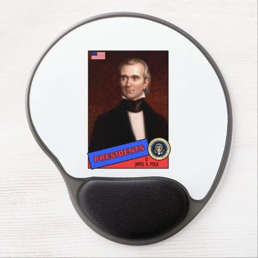 James K. Polk Baseball Card Gel Mouse Pads