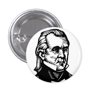 James K Polk button