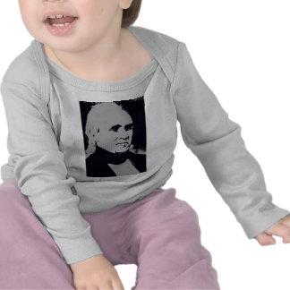 James K. Polk silhouette T Shirts