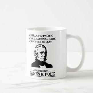 James K Polk Taza