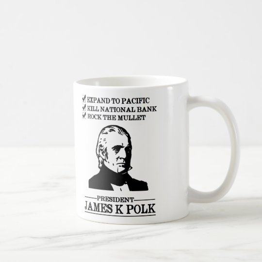James K Polk Taza De Café