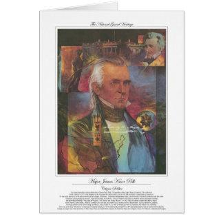 James Knox Polk Citizen Soldier Card