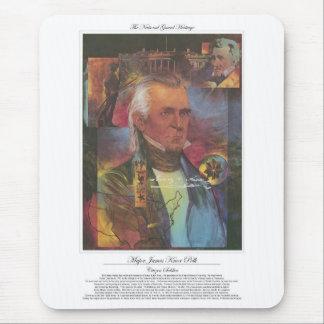 James Knox Polk Citizen Soldier Mouse Pad