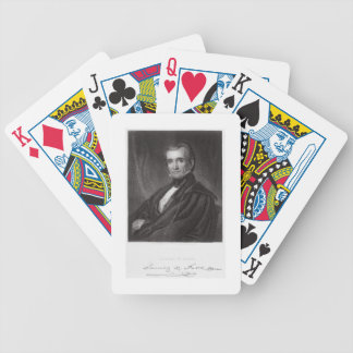 James Knox Polk, engraved by Henry Bryan Hall (180 Bicycle Playing Cards