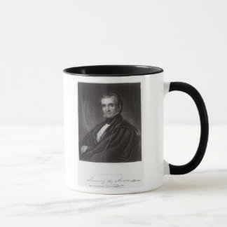 James Knox Polk, engraved by Henry Bryan Hall (180 Mug