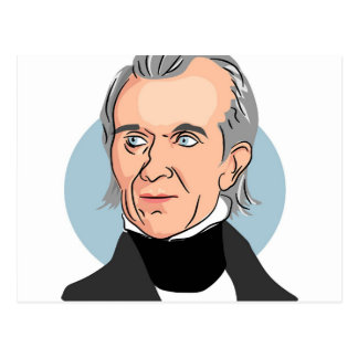 James Knox Polk Postcard