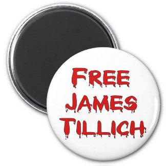 James libre Tillich Imán Redondo 5 Cm