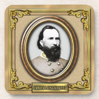 James Longstreet Civil War Drink Coaster