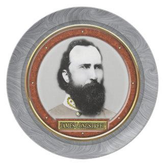 James Longstreet Dinner Plate