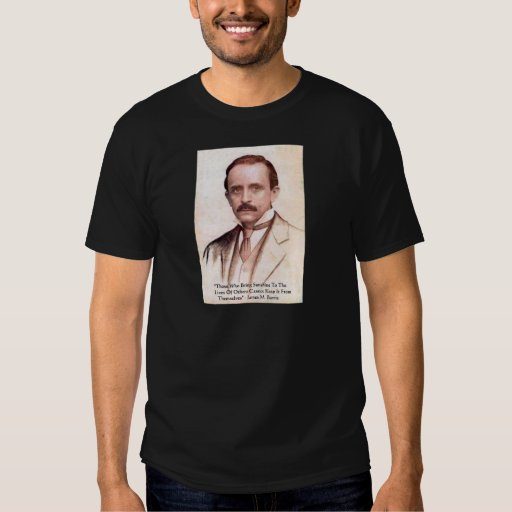"""James M Barrie """"Spread Sunshine"""" Quote Gifts & Tee"""