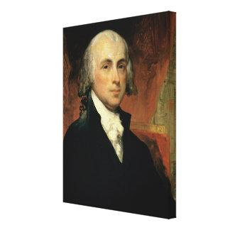 James Madison 2 Canvas Print