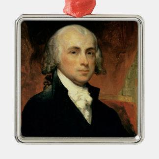 James Madison 2 Metal Ornament