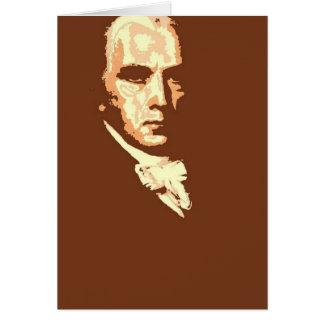 James Madison 4 Greeting Card