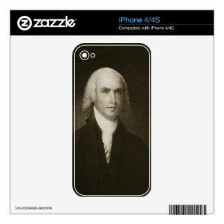 James Madison, 4th President of the United States iPhone 4S Decal