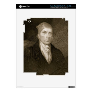 James Madison aged 82, engraved by Thomas B. Welch iPad 3 Skin