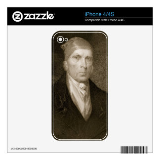 James Madison aged 82, engraved by Thomas B. Welch Skin For The iPhone 4