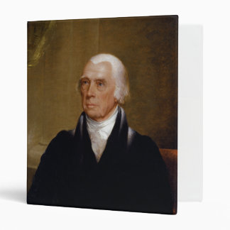 James Madison by Chester Harding (1830) 3 Ring Binder