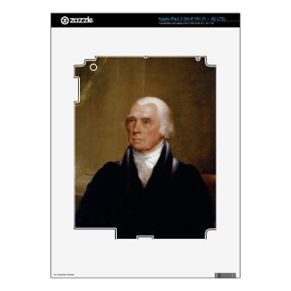 James Madison by Chester Harding (1830) Decals For iPad 3