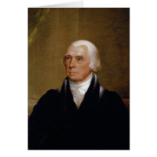 James Madison by Chester Harding (1830) Greeting Card