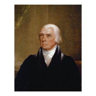 James Madison by Chester Harding (1830) Letterhead