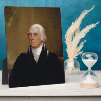 James Madison by Chester Harding (1830) Plaque
